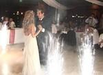 феерверк фонтан на первый танец