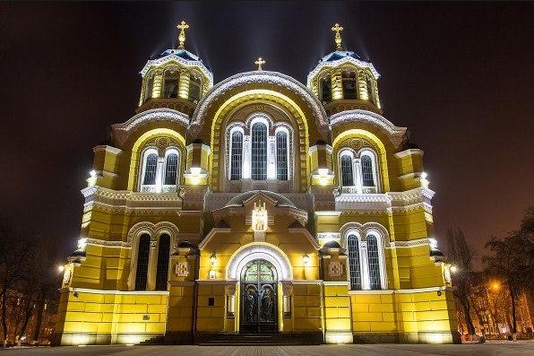 вято-Владимирский Кафедральный собор Киев