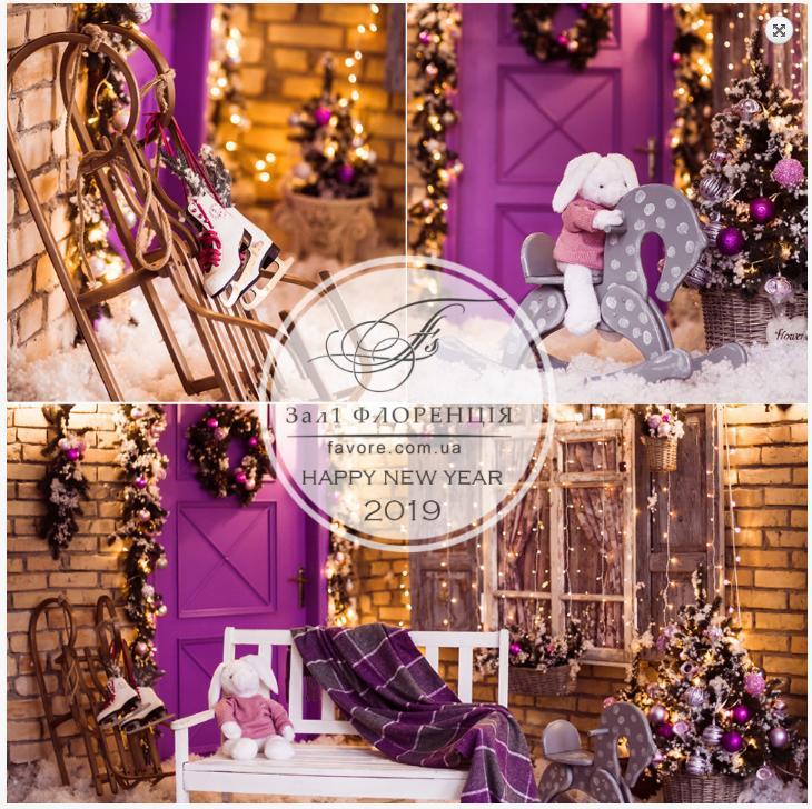 Студия Фаворе Киев Новогодняя фотосессия в студии