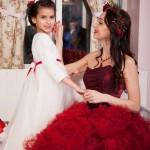 семейная фотосессия мама и дочка