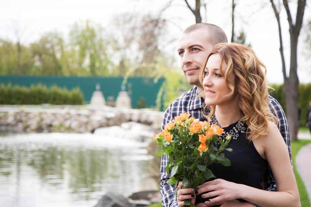 Фотосессия LOVE STORY на озере Межигорье (2)