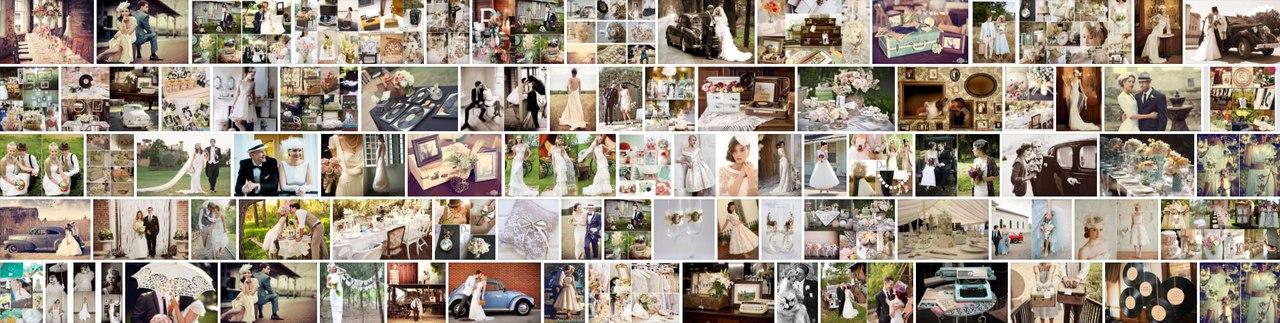 Свадьба в стиле Ретро и винтаж фото идеи
