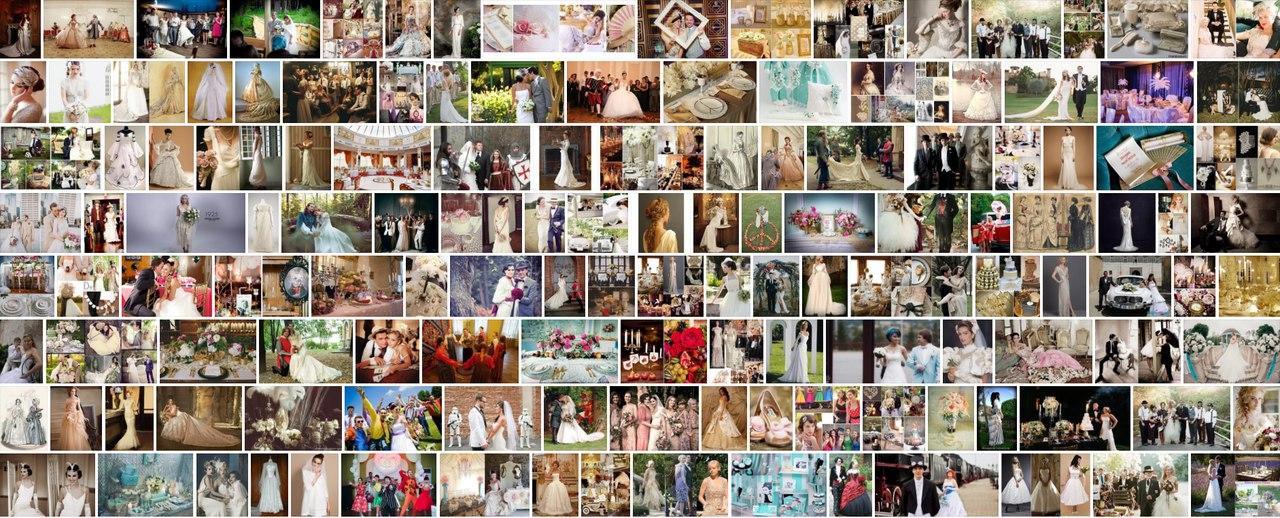 Свадьба в стиле Свадьба «эпохи» фото идеи