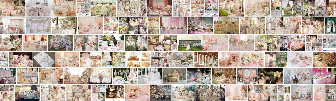 Свадьба в стиле Шебби-шик фото идеи