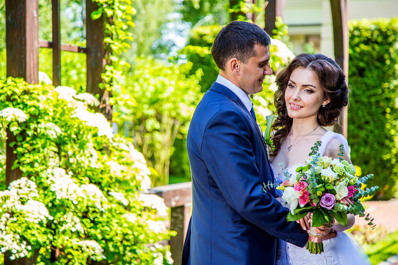 Слайд из фото на свадьбу