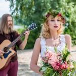 свадебный фотограф на свадьбу фотосессия Киев свадебные позы Марина Праздничная