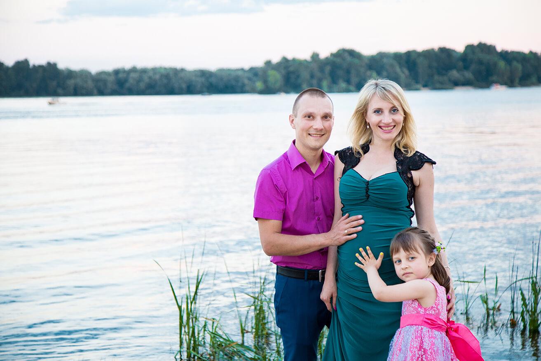 Оригинальные фото с мужем и детьми