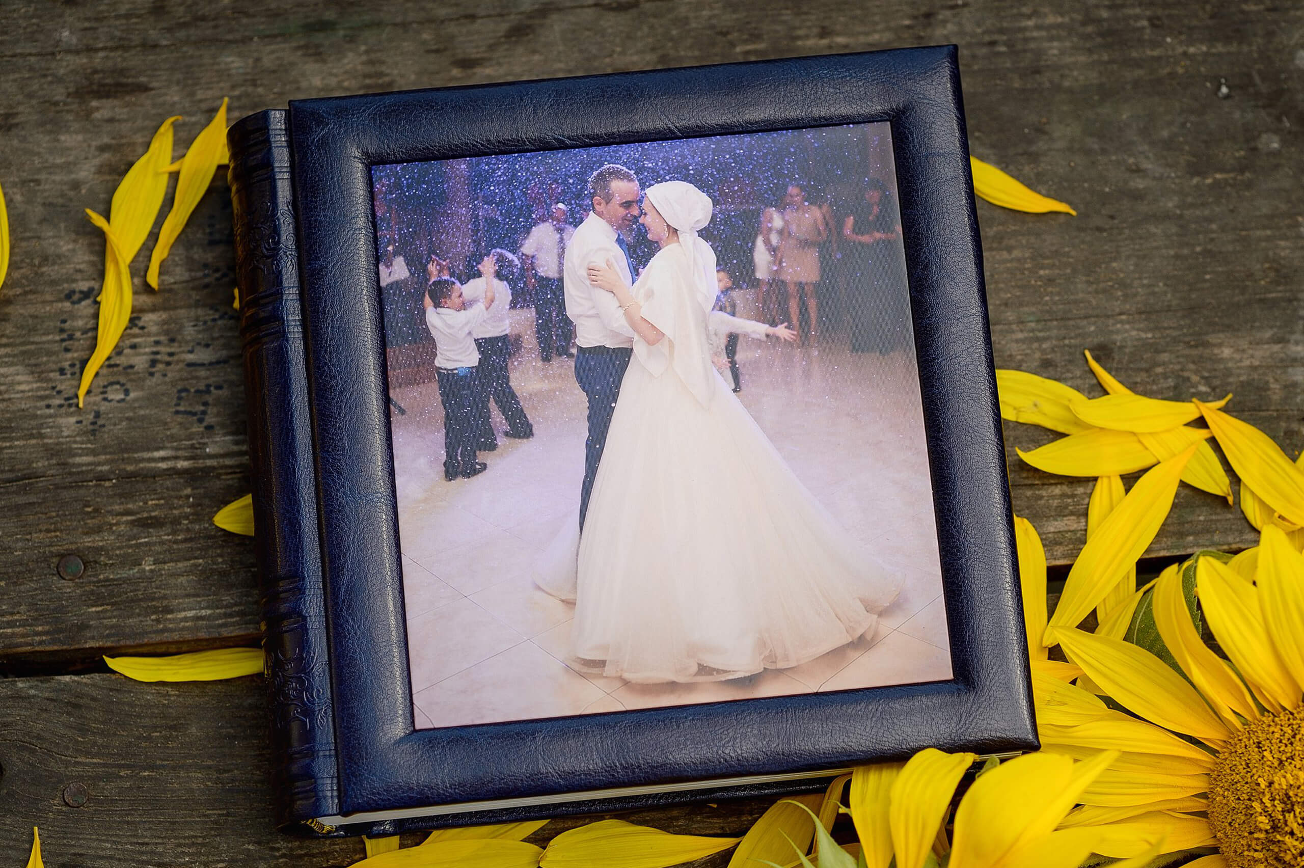 свадьба в синем синяя фотокнига фотоальбом