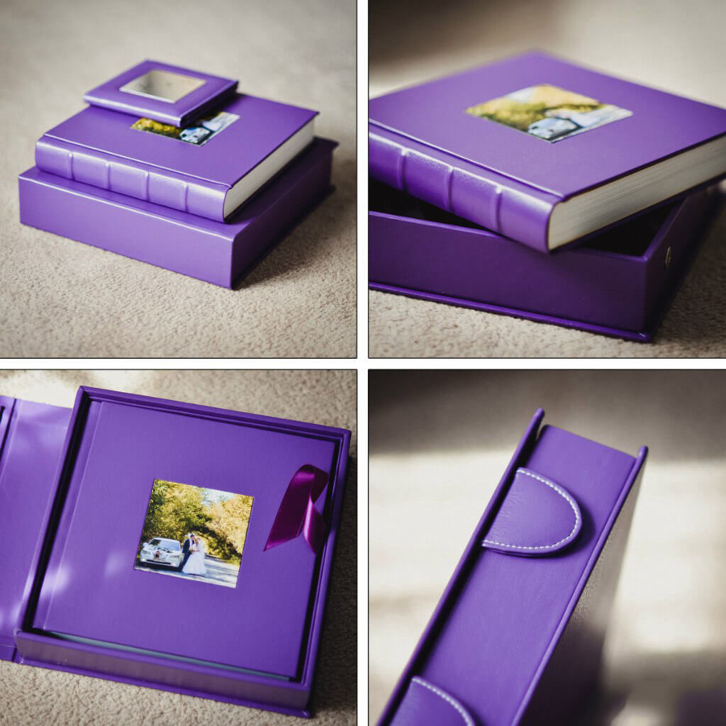 фиолетовая сиреневая фиалковая фотокнига