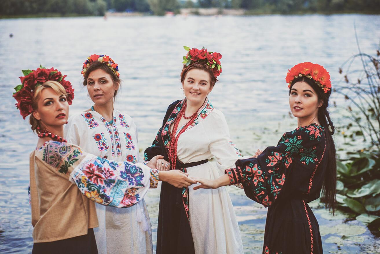 фотограф киев на девичник день рождения фотосессию в украинском стиле