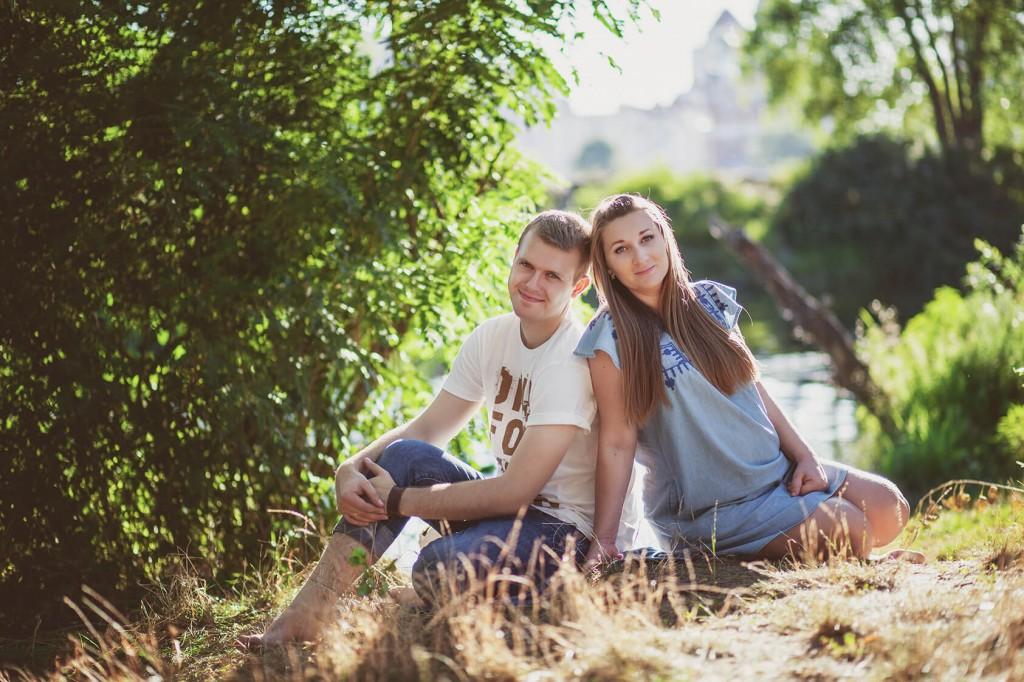 фотосессия беременной с мужем на природе улице фотограф Киев для беременной (11)