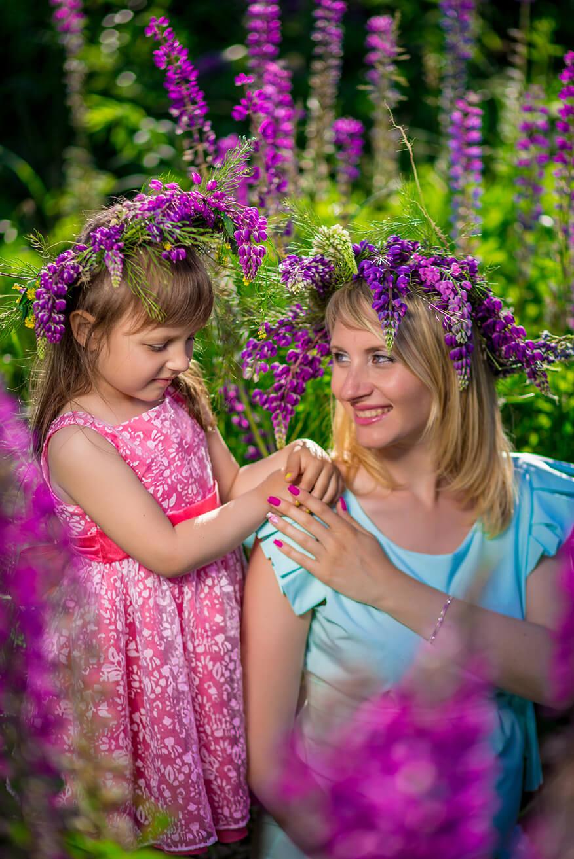 Фотосессии мамы с ребенком на природе фото