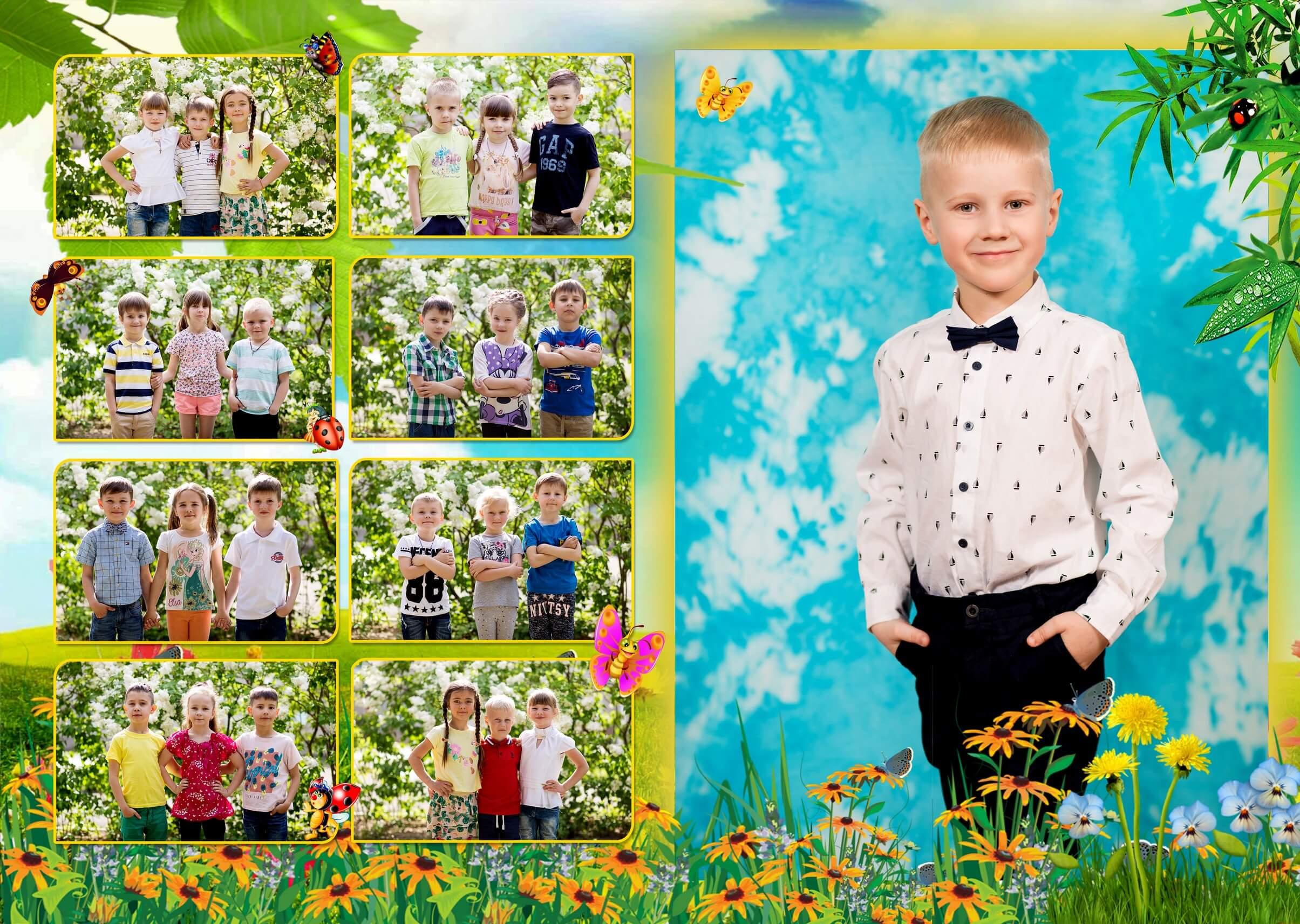заказать выпускные фотоальбомы фотокниги альбомы для детского сада цена Киев выпускные альбомы для садика киев Выпускной альбом в детский сад Киева
