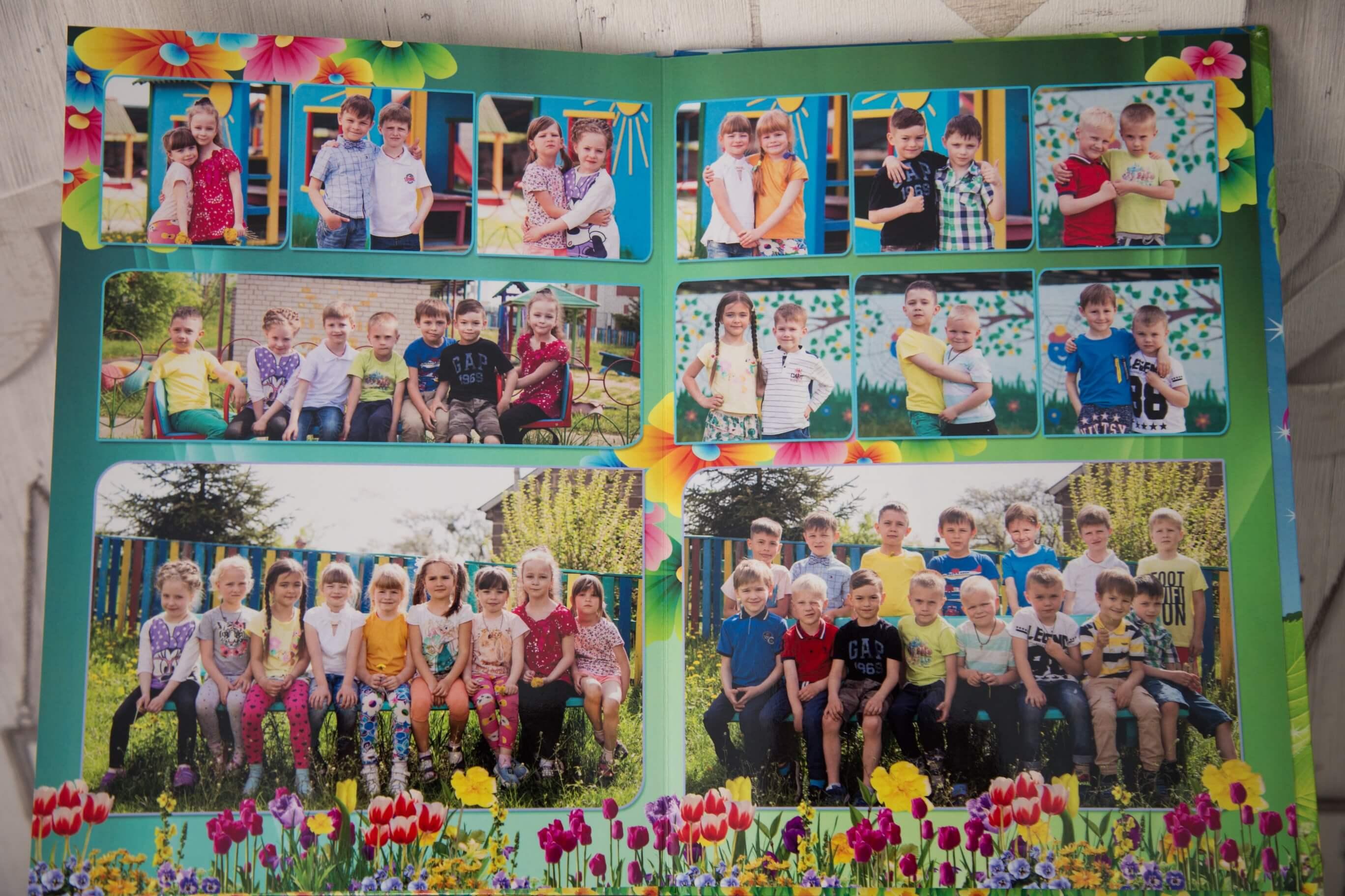 zakazat' vypusknye fotoal'bomy fotoknigi al'bomy dlja detskogo sada cena Kiev vypusknye al'bomy dlja sadika kiev Vypusknoj al'bom v detskij sad